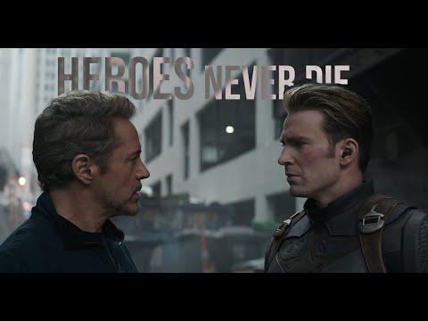 Ironman & Captain America \-/ Heroes Never Die