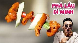 Phá lấu Dì Minh chỉ bán phá lấu muốn ăn bánh mì tự đi mua 360 ĐỘ NGON TV