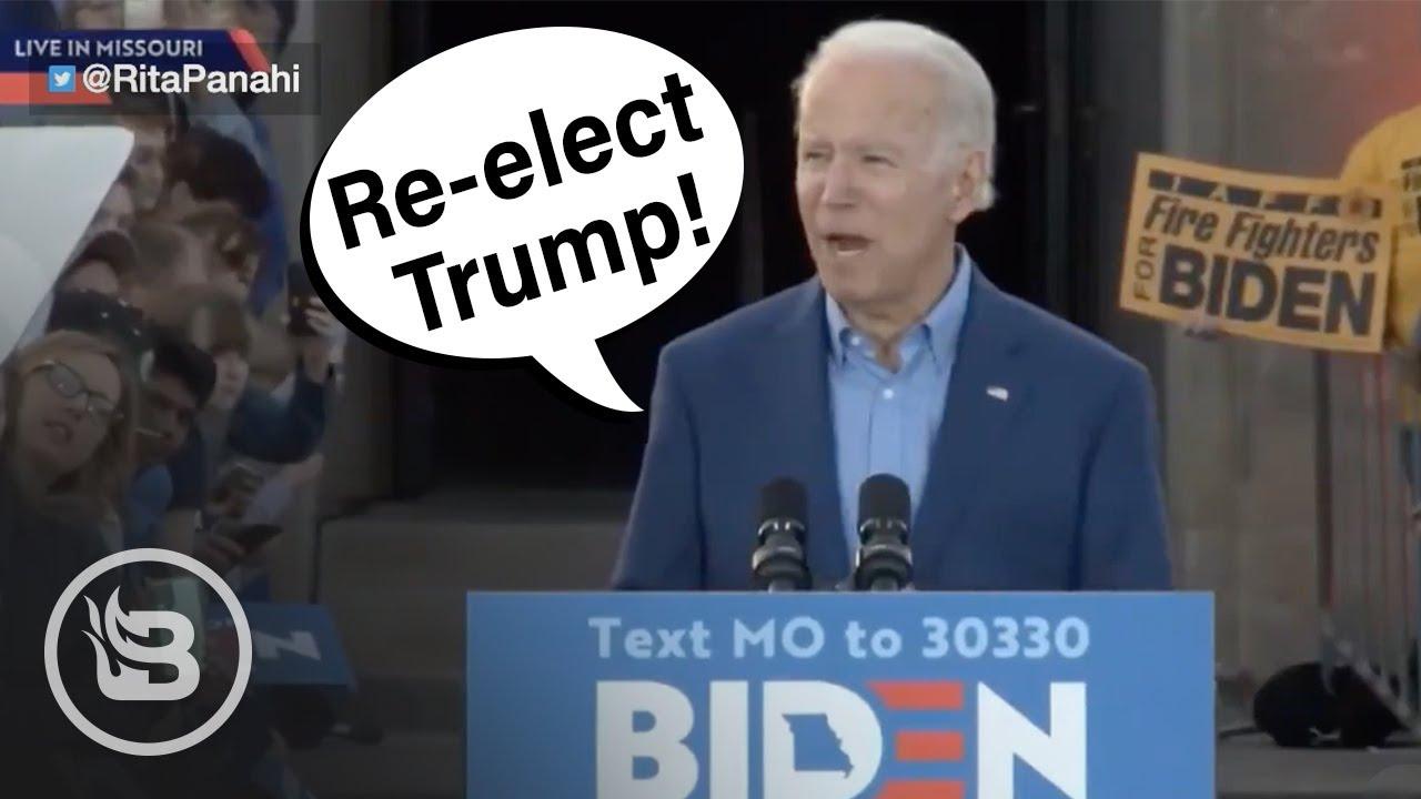 Joe Biden Accidentally Endorses Trump | Pat Gray Unleashed