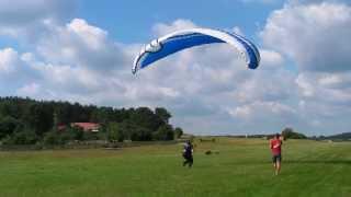 Lot Paralotnią – Zielona Góra video