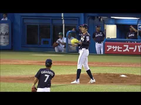 侍ジャパン壮行試合 大船渡高校佐々木朗希投手 完璧な立ち上がりで大学生代表からなんと2三振!