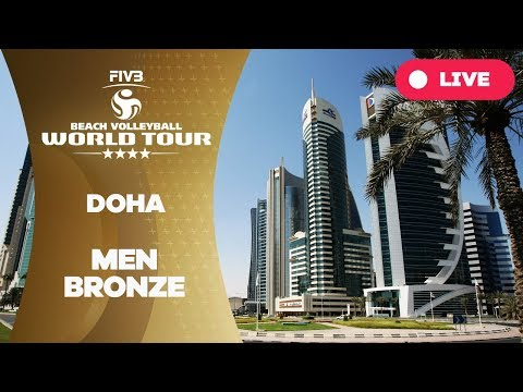 Doha 4-Star 2018 - Men bronze - Beach Volleyball World Tour