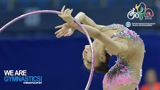 Download Video Rhythmic Gymnastics World Championships - Individuals All Around Part 2 MP3 3GP MP4