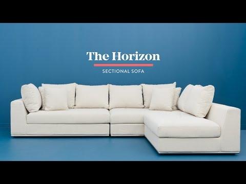 Horizon modular sectional sofa - Structube