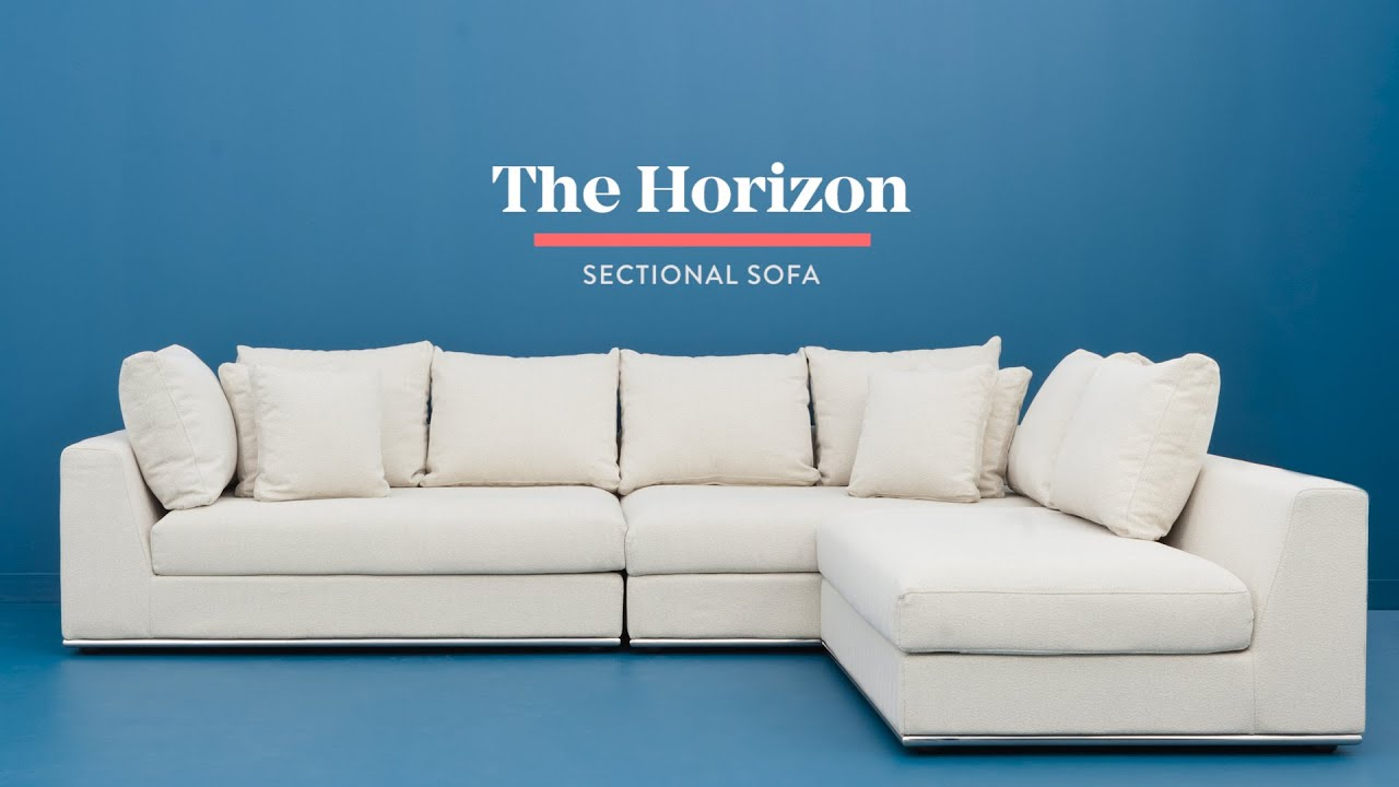 Horizon Modular Sectional Sofa Structube Youtube