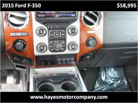 2015 ford f 350 used cars lubbock tx youtube for Hayes motors lubbock tx