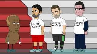 KuTstupid - Путин наказывает футболистов