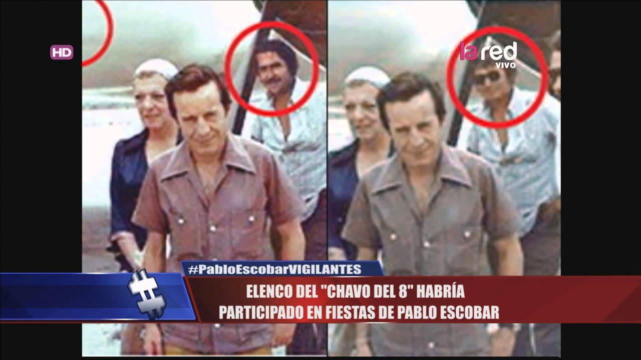 """Pablo Escobar Vs Chapo >> Elenco del """"Chavo del 8"""" habría participado en fiestas de Pablo Escobar - YouTube"""