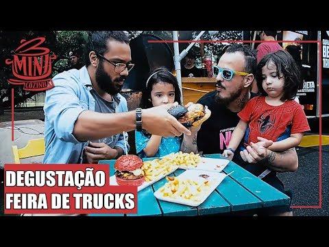 Degustação em Feira de Food Truck feat. Marcio Makana #MINICOZINHA