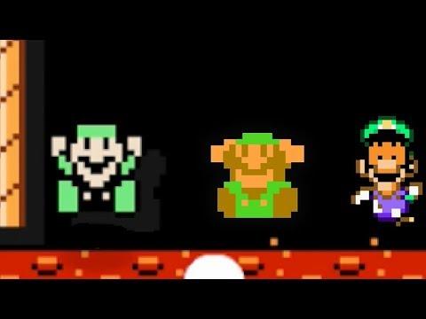 Super Mario Maker -100 Luigi Challenge # 16