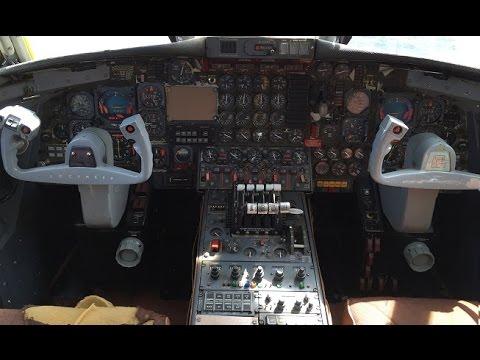 Lockheed Jet Star Cockpit Tour