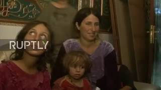 Syria: Hostages released by IS reunite with loved ones in Sweida