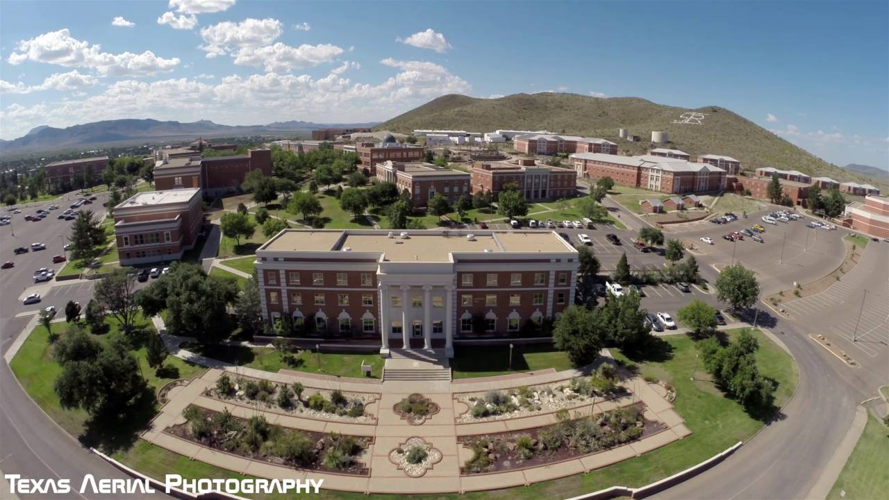 Sul Ross State University Aerial Tour