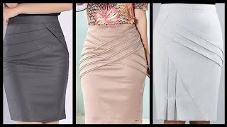 Pencil mini skirts collection for office wear business women