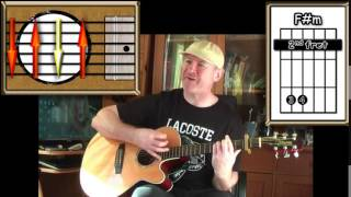 Lodi - Creedence Clearwater Revival - Acoustic Guitar Lesson (easy-ish)