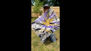 HOW TO MAKE SPIN ART USING A CANVAS, PAINT, AND A DRILL