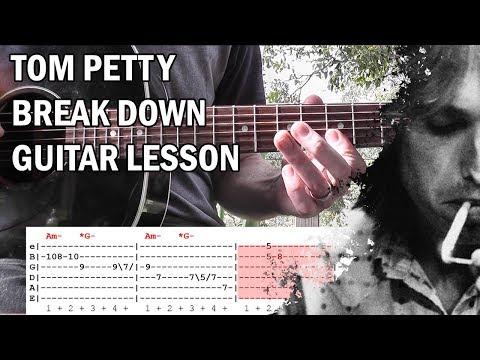 Break Down by Tom Petty Lesson