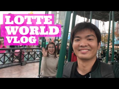 what's-in-lotte-world-adventure-park-🎢🏰-|-korea-fall-day-6-🍁🇰🇷