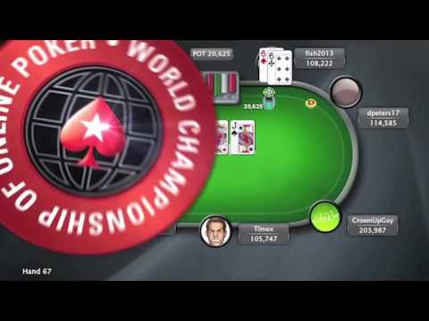 World Championship of Online Poker WCOOP - Event 47 - $51k Super High Roller - Poker world series