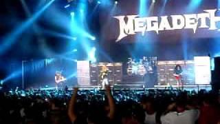 Megadeth - Peace Sells (Mayhem Festival 2011: Camden, NJ)