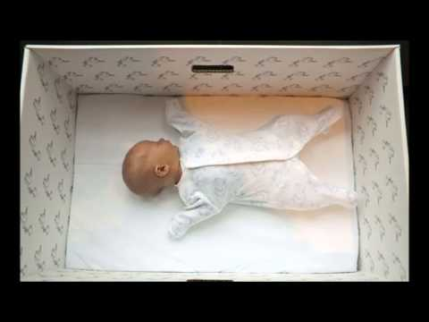 The Trend Of Finnish Babies Sleeping In A Box