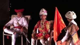 2013 Ganpati Program - Bloomington Marathi Mandal - Afzal Khanacha Vadh