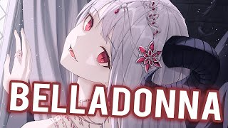 Nightcore -  Belladonna - Ava Max - (Lyrics)