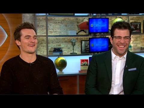 "Rupert Friend, Zachary Quinto on new movie ""Hitman: Agent 47"""
