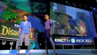 Kinect Disneyland Adventures - E3 2011: Gameplay Demo