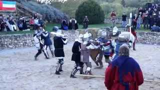 Battle of the Nations, Medieval Fight at the Black  Falcon Fortress France 2012