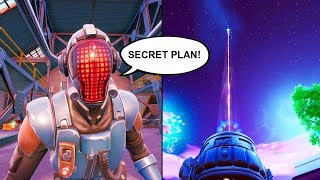 The VISITOR is CHANGING the MAP! *SECRETS PLAN* FORTNITE SEASON 10 LIVE MAP CAHNGES (RIFT BEACONS)