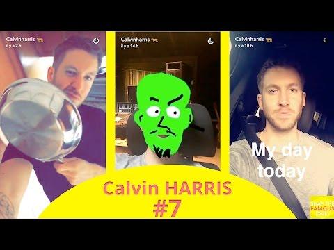 Calvin Harris In San Fernando Valley (California) - Snapchat - July 22 2016