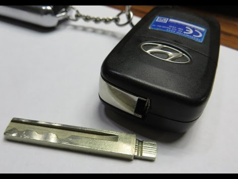 Ремонт ключа, брелка Hyundai Accent \ Solaris