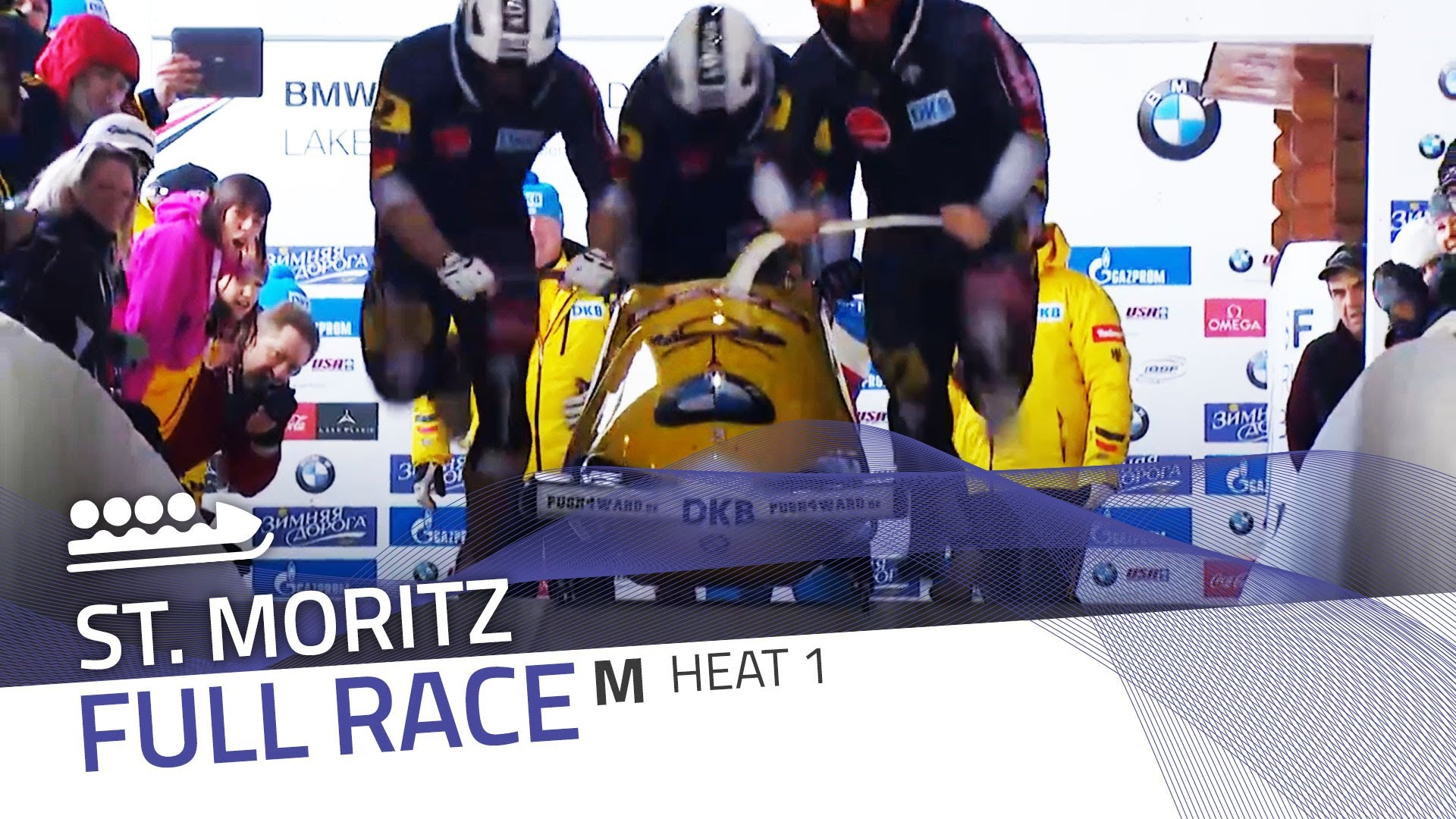 St. moritz | bmw ibsf world cup 2015/2016 - 4-man bobsleigh heat 1 | ibsf official