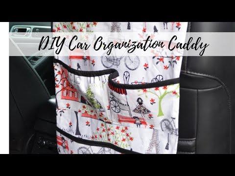 Car Organization Caddy / How to Make a Car Organizer / DIY Organizer