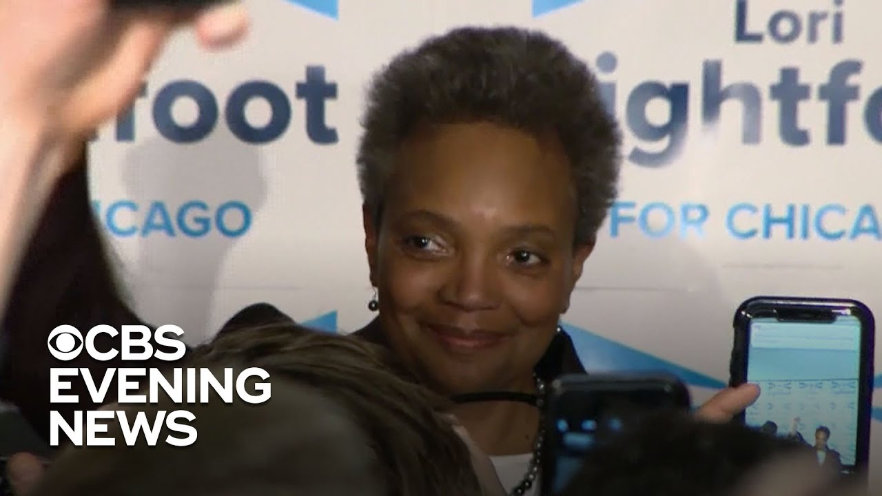 The first African-American female mayor in Chicago history will be Lori Lightfoot