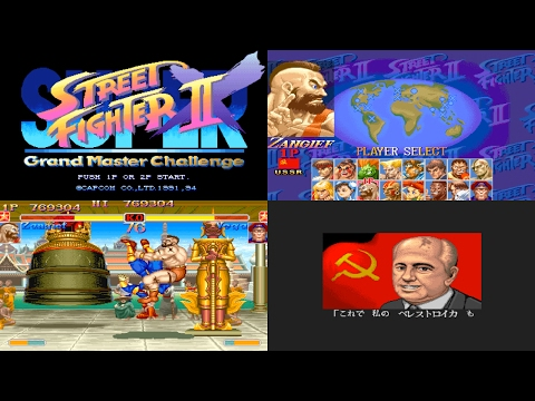 [5/5] Zangief - SUPER STREET FIGHTER II X(Arcade,JP,LV1,EASIEST) [3150x1772,60p]
