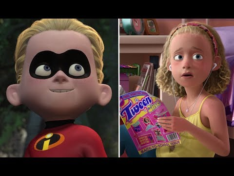 Pixar Theory: Is Dash Molly's Father? - Do Andy And Molly Have Different Fathers? (part 1)