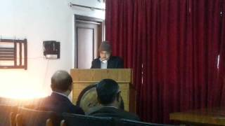 Poem recitation by Surya Prakash Arya on Vasant Panchami 2014