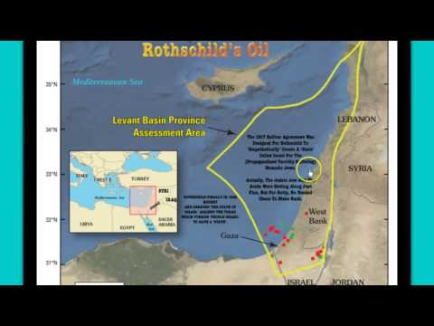 Israel Grants Oil Rights to Rupert Murdoch and Jacob Rothschild!