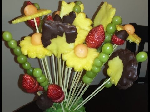 HOW TO: Edible Arrangement