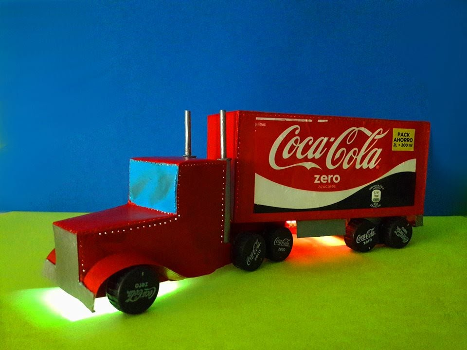 How To Make Coca Cola Truck With Cardboard Based On Davehax Christmas Truck