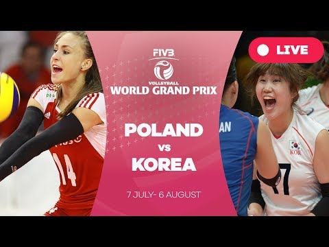 Poland v Korea - Group 2: 2017 FIVB Volleyball World Grand Prix