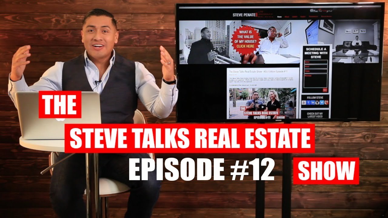 Listing Your House During The Holiday Season! The Steve Talks Real Estate Show EP 12