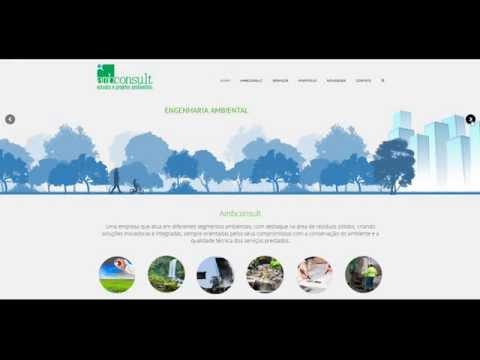 Desenvolvimento de website para a Ambconsult