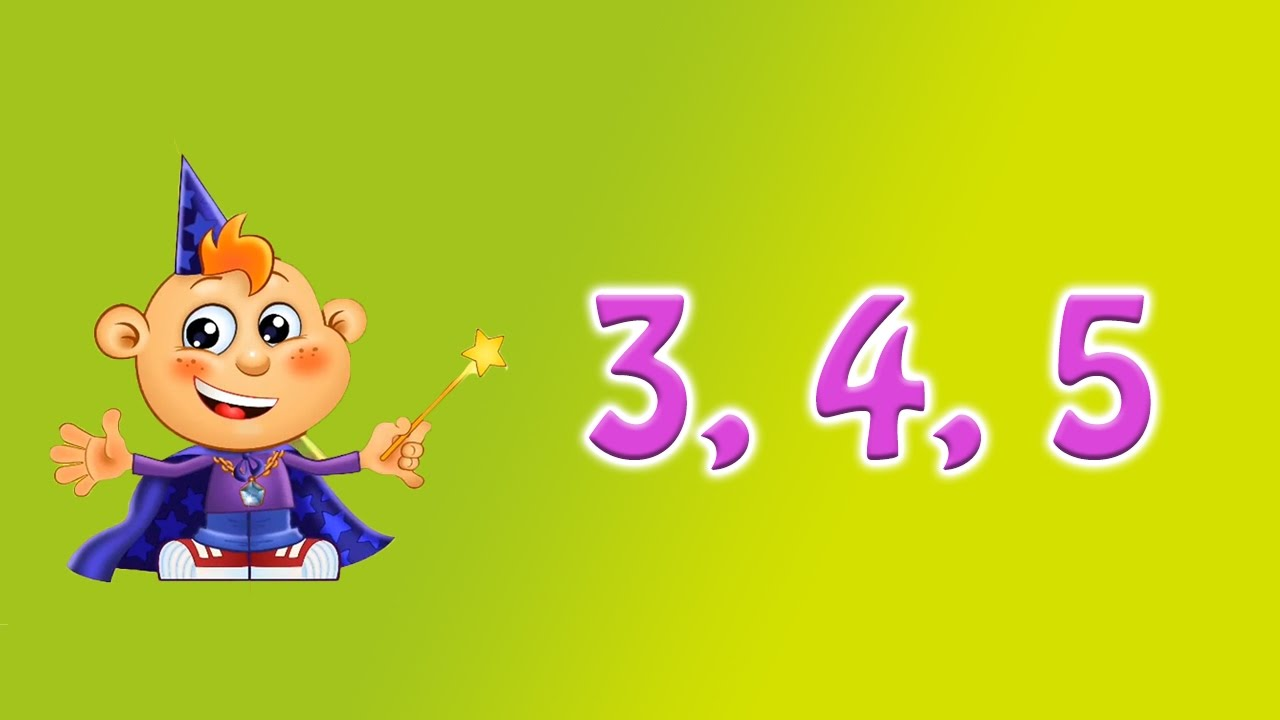 3 4 5 Counting Numbers Learning Games For