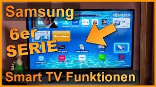Repeat youtube video Smart TV Funktionen: Samsung Slim LED Smart TV 6er Serie (UE46F6470 / UE46F6500 / UE46F6510)
