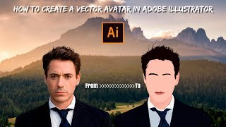 How to Create a Vector Avatar in Adobe Illustrator
