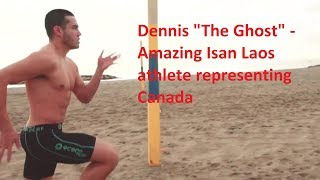 """Amazing Isan Laos athlete - Dennis """"The Ghost"""""""