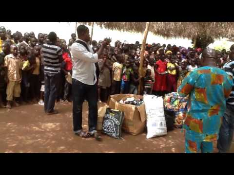 At internally displaced person camp Benin